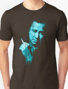 Bill Hicks (blue) Unisex T-Shirt