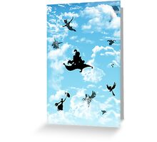Magic in the Sky Greeting Card