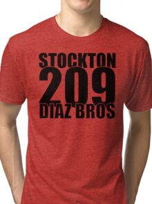 The Diaz Bros Tri-blend T-Shirt
