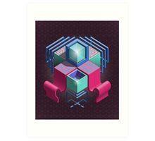 Q-Flow  Art Print