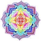Color Mandala by Octavio Velazquez