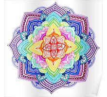 Color Mandala Poster