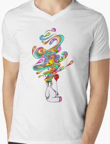 Polar Dreams Mens V-Neck T-Shirt
