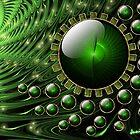 Spiral Vortex: Part of Dream Scape Series. by Junior Mclean