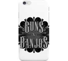 Guns 'N' Banjos iPhone Case/Skin