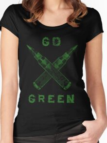 Go Green Women's Fitted Scoop T-Shirt