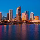 Downtown Tampa in Florida by John Hartung