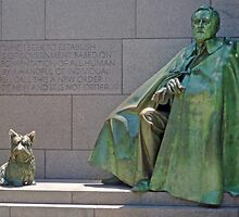 FDR and Fala by TonyCrehan