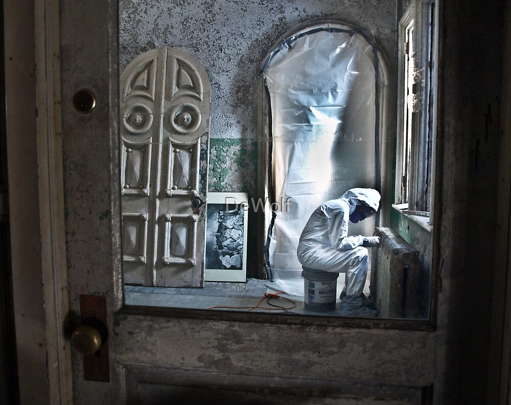 Man in the Door by Denise Sparks