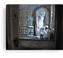 Man in the Door Canvas Print