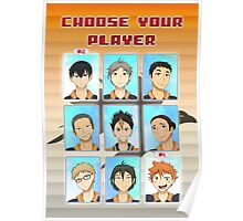 Choose Your Player Poster