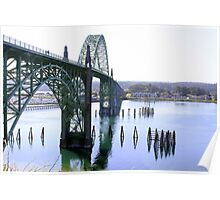 Bridge over Yaquina Bay Poster