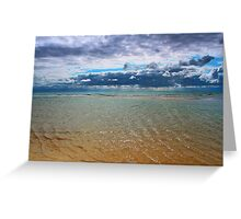 Freshwater West -Tropical Lagoon! Greeting Card