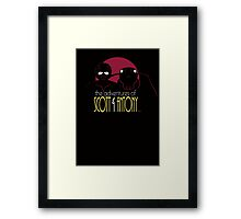 The Adventures of Scott and Antony Framed Print