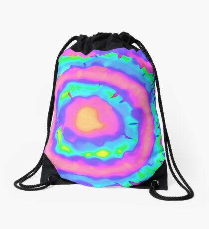 maybe psychedelic Drawstring Bag