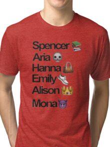 Pretty Little Liars Emoji Tri-blend T-Shirt