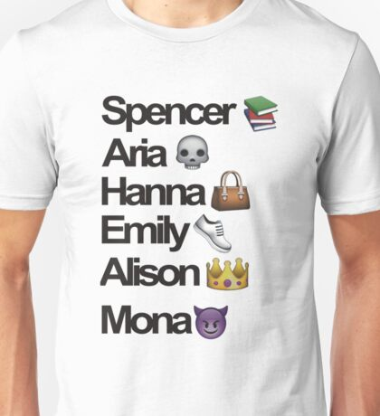 Pretty Little Liars Emoji Unisex T-Shirt
