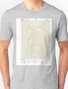 USGS Topo Map California Figurehead Mountain 20120404 TM T-Shirt