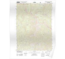 USGS Topo Map California Figurehead Mountain 20120404 TM Poster