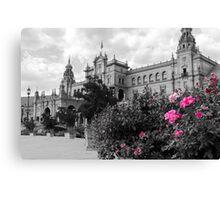 Seville - Plaza de Espana Canvas Print
