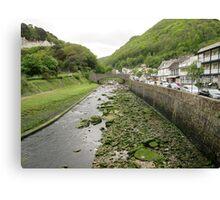 Exmoor river Canvas Print
