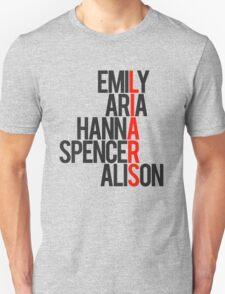 Pretty Little Liars Group Liars Unisex T-Shirt