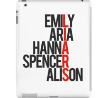 Pretty Little Liars Group Liars iPad Case/Skin