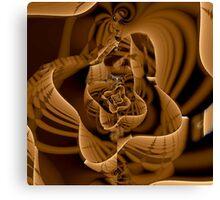 wooden sculpture  Canvas Print
