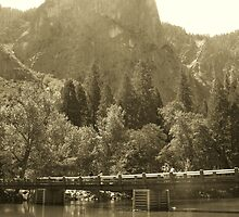 Antiqued Yosemite by Crystal Fobare