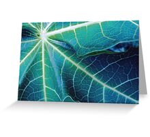 Blue Papaya Greeting Card