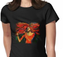 scribbler tee Womens Fitted T-Shirt