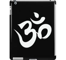 ohm white iPad Case/Skin