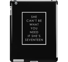 We're Not a Pop Band iPad Case/Skin