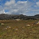 Panorama including The Horn, Mount Buffalo by Colin12
