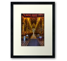 Glory - St Mary's Cathedral Sydney - The HDR Experience Framed Print