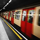 The Blur of the Underground. by Ruth Jones