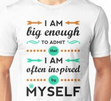 Inspired By Myself Unisex T-Shirt