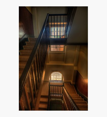 Upstairs Downstairs - Hyde Park Barracks -The HDR Experience Photographic Print