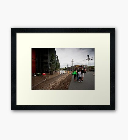 Suncorp Stadium Framed Print