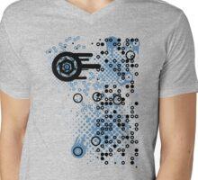 Cool Dotty Dots & Crazy Circles... Mens V-Neck T-Shirt