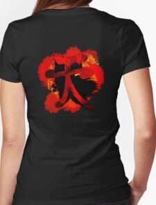 Street Fighter - Akuma - Shun Goku Satsu Womens Fitted T-Shirt