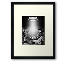 What Ever You Say, Sarah. Framed Print