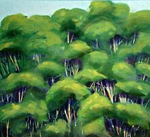 Treetops by Carole Russell