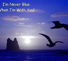 never blue with you card by dedmanshootn