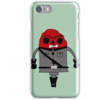 Red Skull'd iPhone Case/Skin