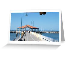 Redcliffe  Jetty  Greeting Card
