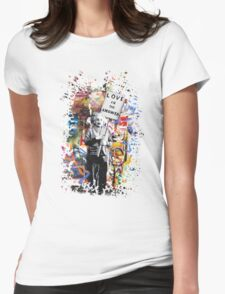 Albert Einstein Genius Banksy Inspiration Graffiti Street Art Mashup  T-Shirt