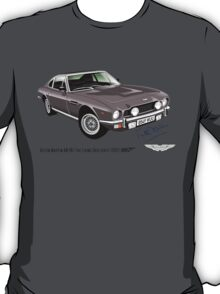 Aston Martin AM V8 from the Living Daylights T-Shirt