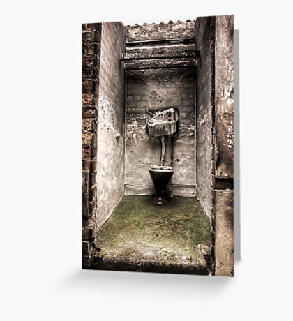Ablution Greeting Card