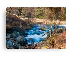 River Duddon above Birks Bridge Canvas Print